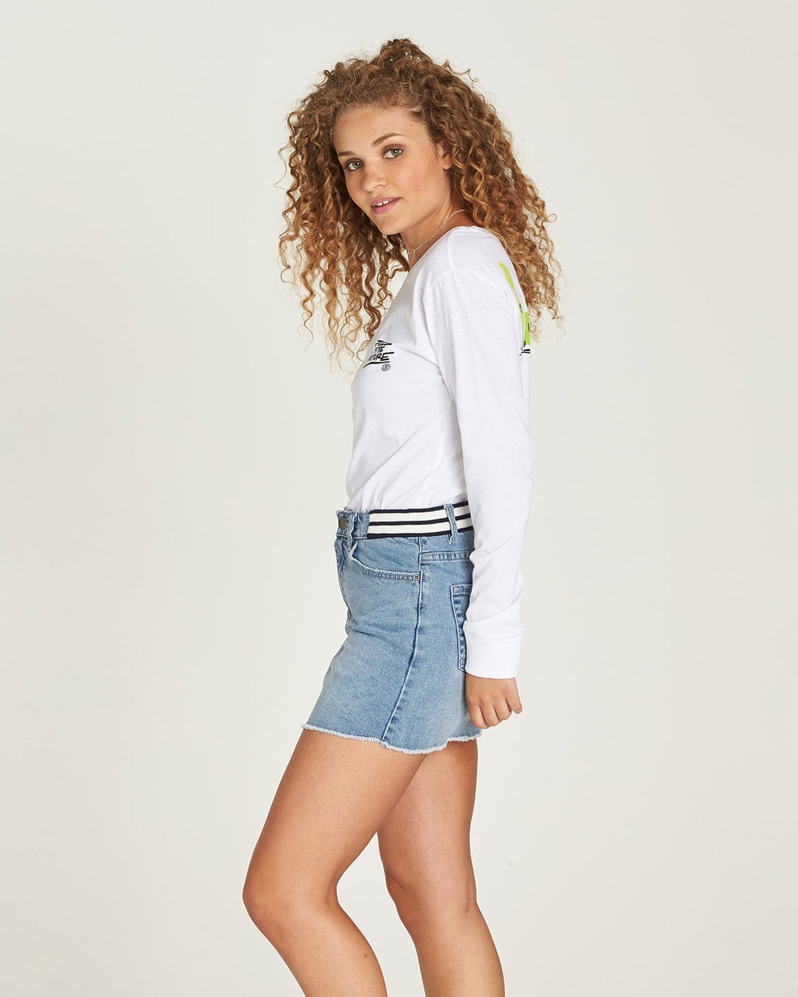 1 Yawyd Ls - Tee Shirt for Women White N3LSA8ELP9 Element