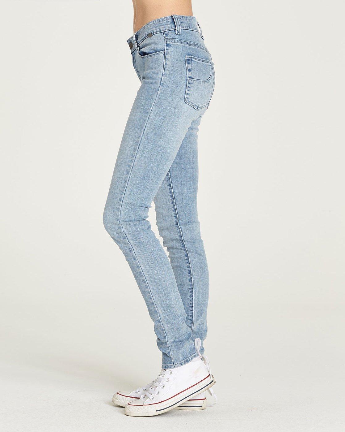 1 Sticker - Jeans for Women Blue N3PNA1ELP9 Element