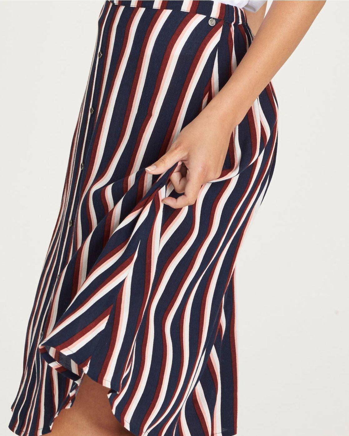 1 Midnight - Skirt for Women Blue N3SKA1ELP9 Element