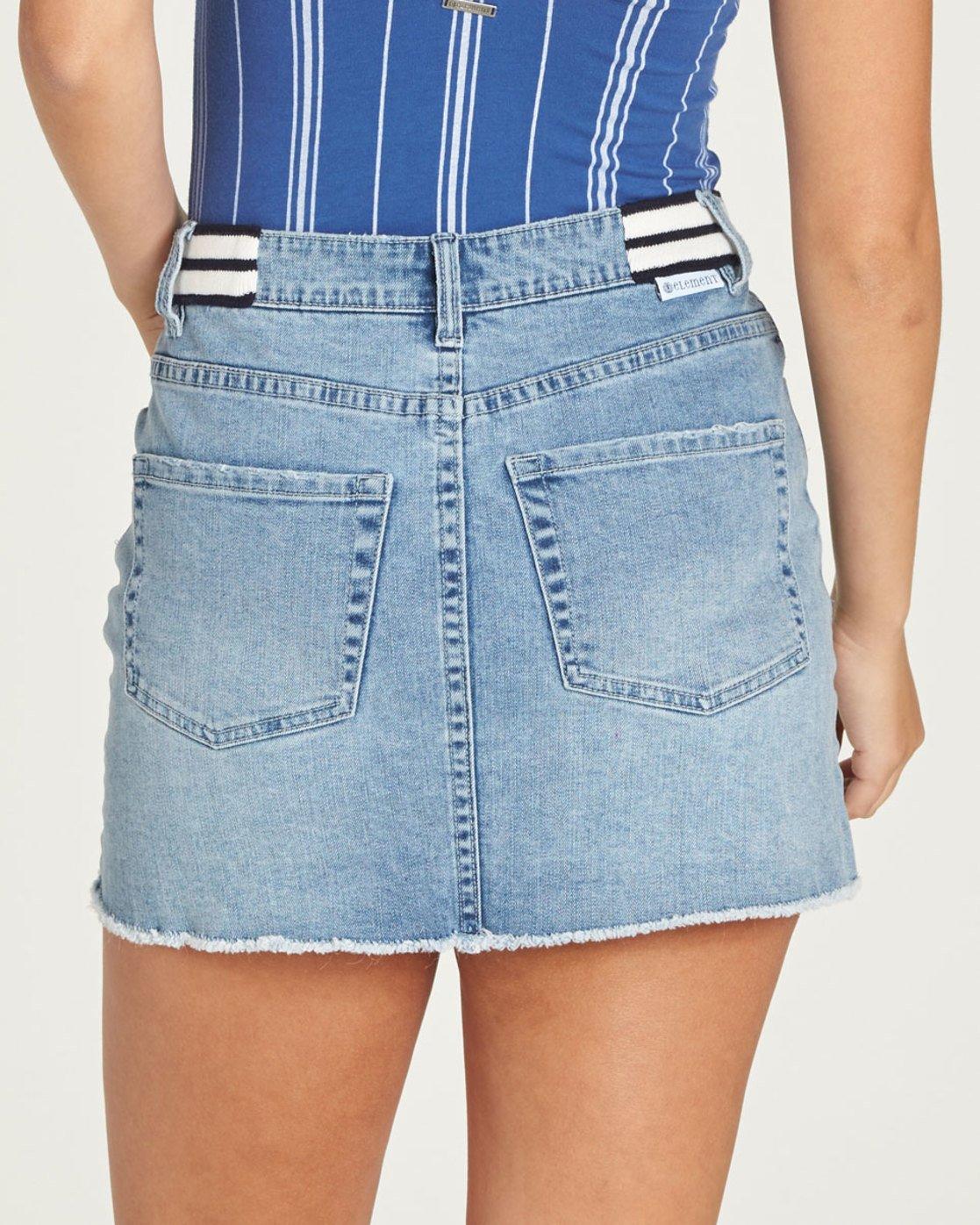 1 Waverly Denim Skirt - Skirt for Women Blue N3SKA3ELP9 Element