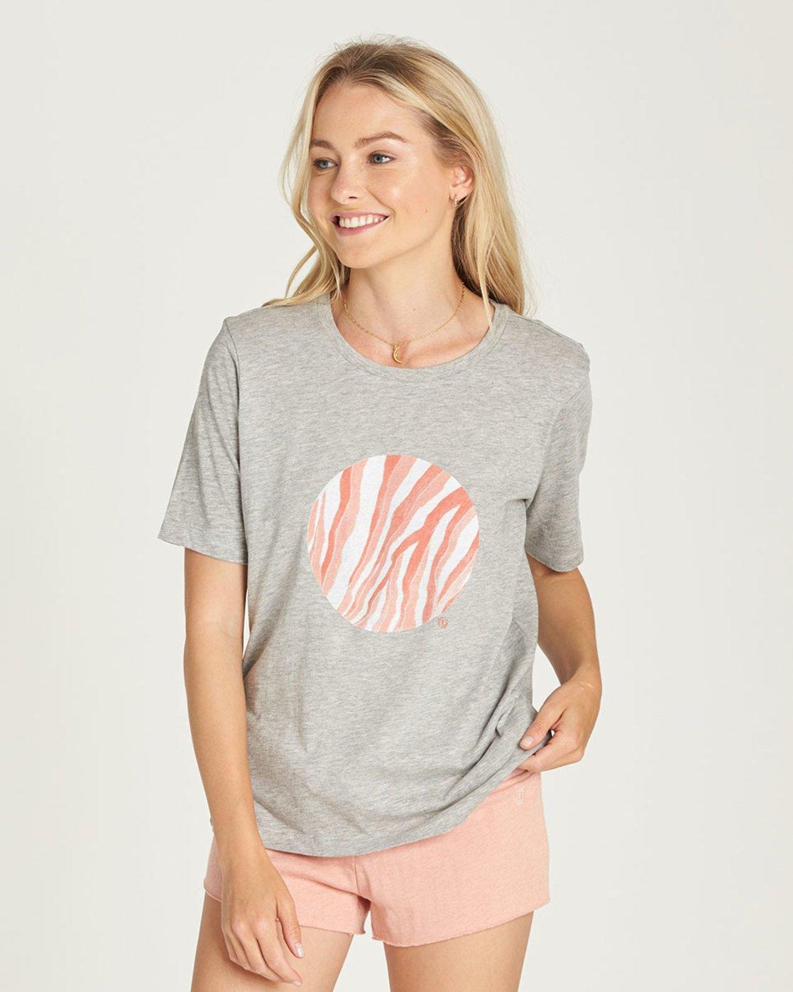0 Water Circle Cr - Tee Shirt for Women Grey N3SSA2ELP9 Element