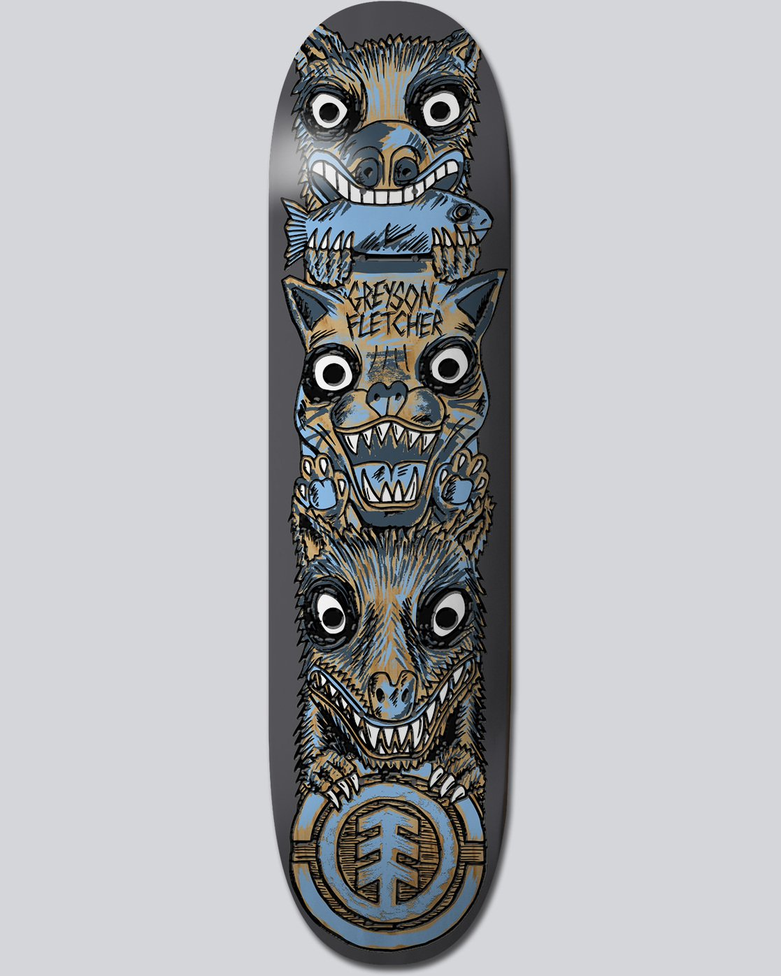 0 Fos Totem Greyson 8' - Deck for Men  N4DCG5ELP9 Element
