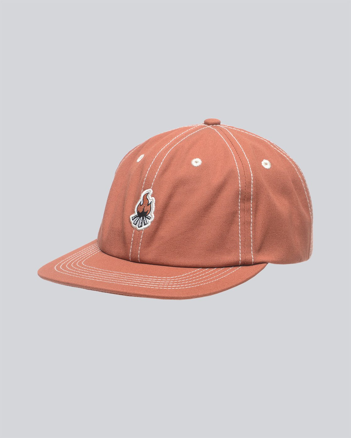 0 Camp Cap - Head Wear for Men Orange N5CTA1ELP9 Element
