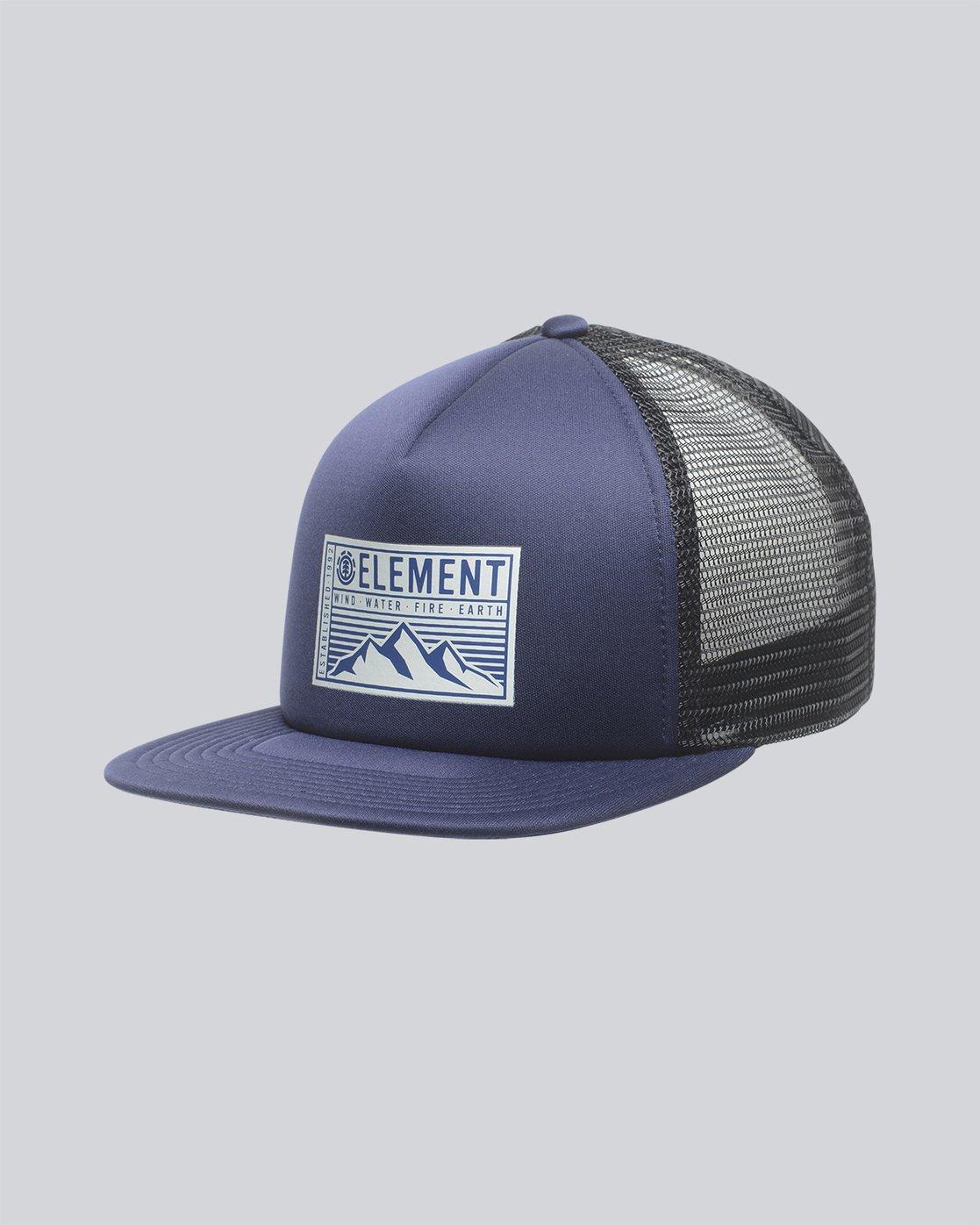 0 Camp Trucker Cap - Head Wear for Men Purple N5CTA5ELP9 Element