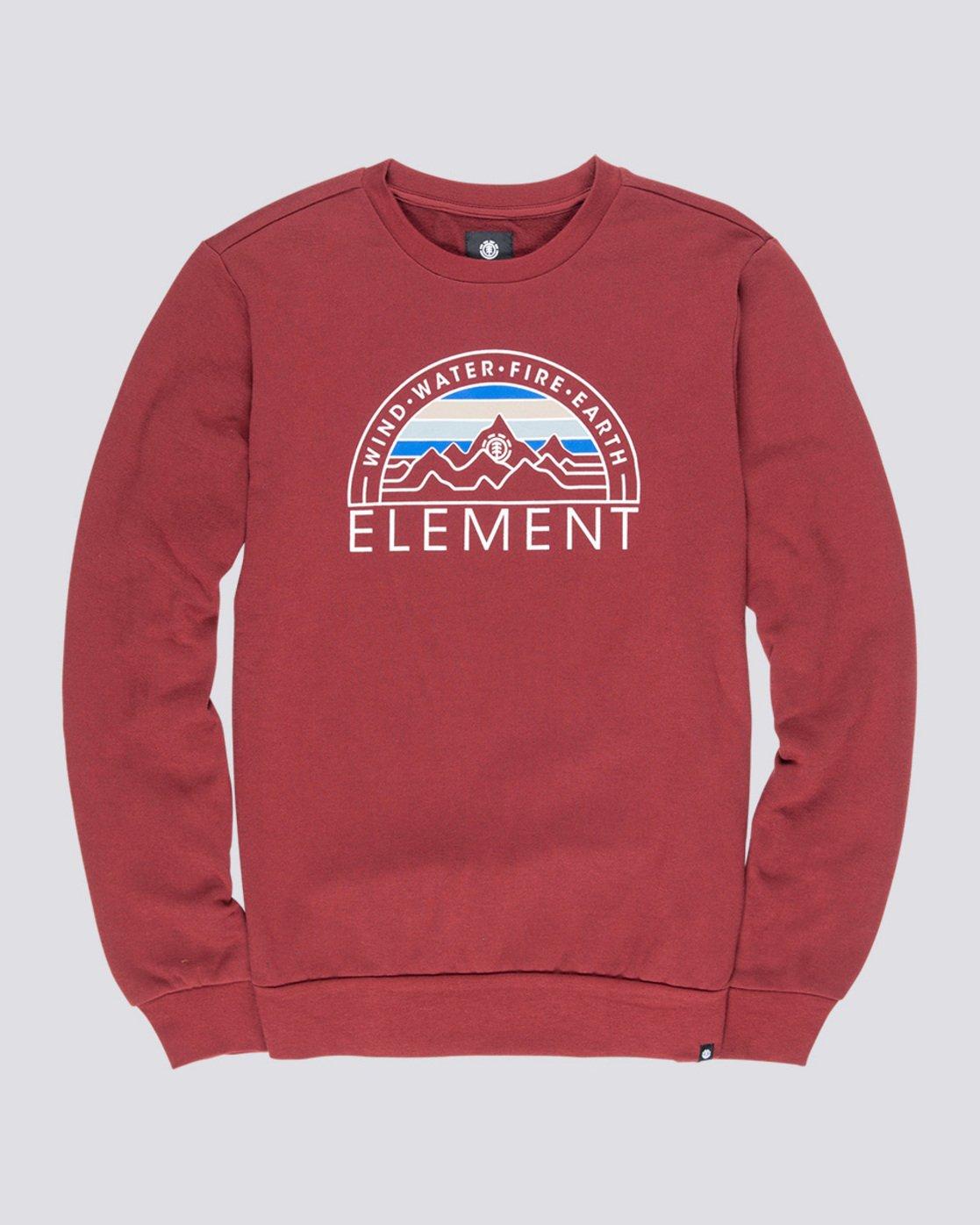 3 Odyssey - Sweatshirt Red Q1CRA7ELF9 Element