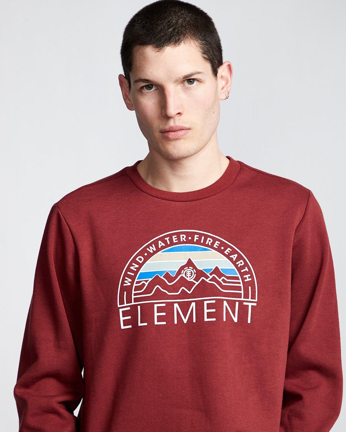 1 Odyssey - Sweatshirt Red Q1CRA7ELF9 Element