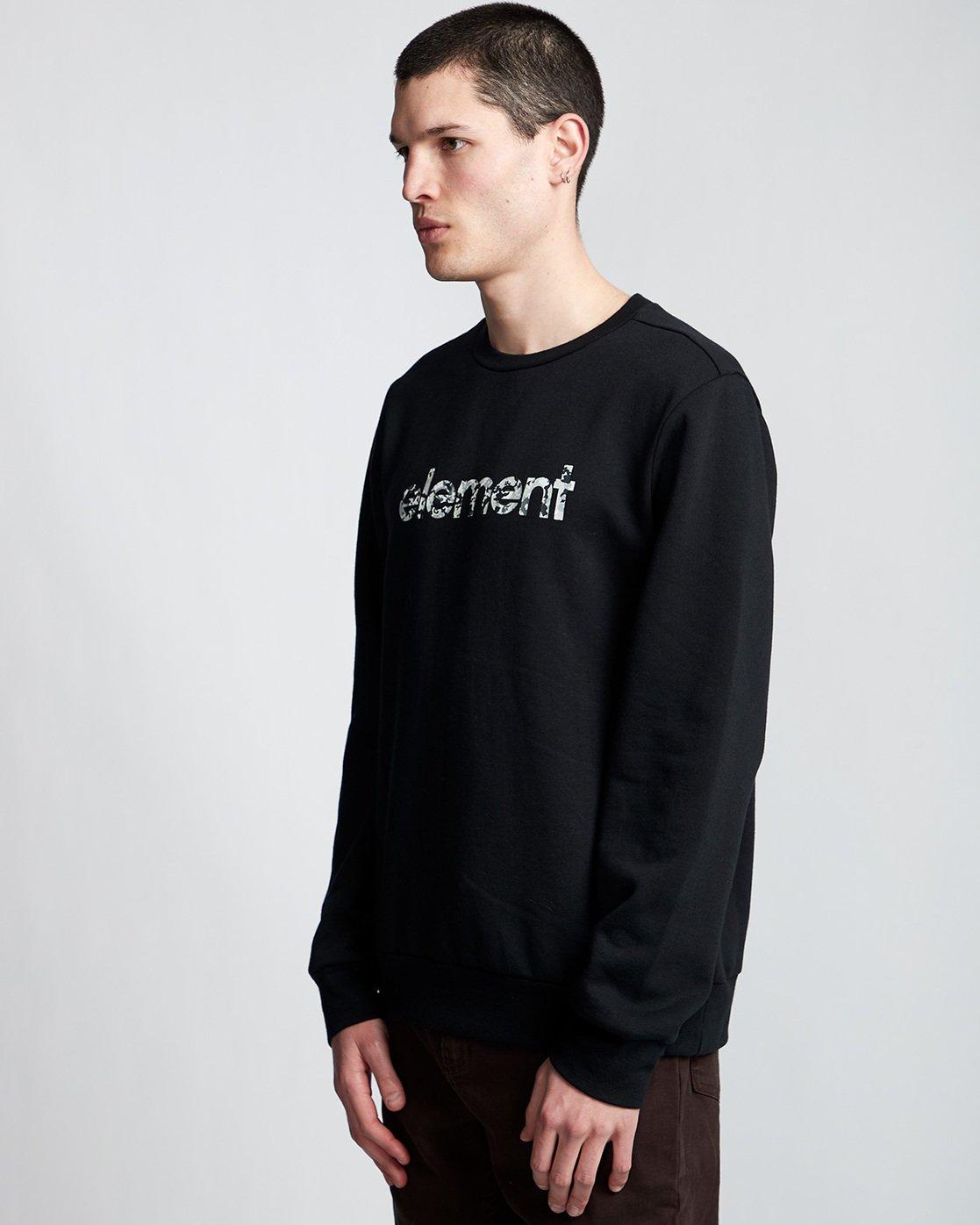 0 Verse - Sweatshirt Black Q1CRB1ELF9 Element