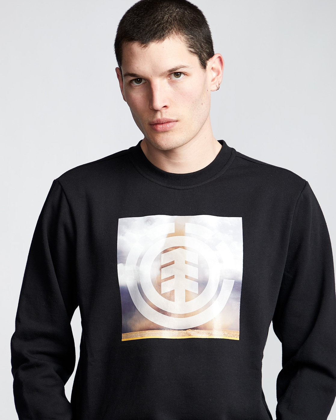 1 Combust Icon - Sweatshirt Black Q1CRB3ELF9 Element