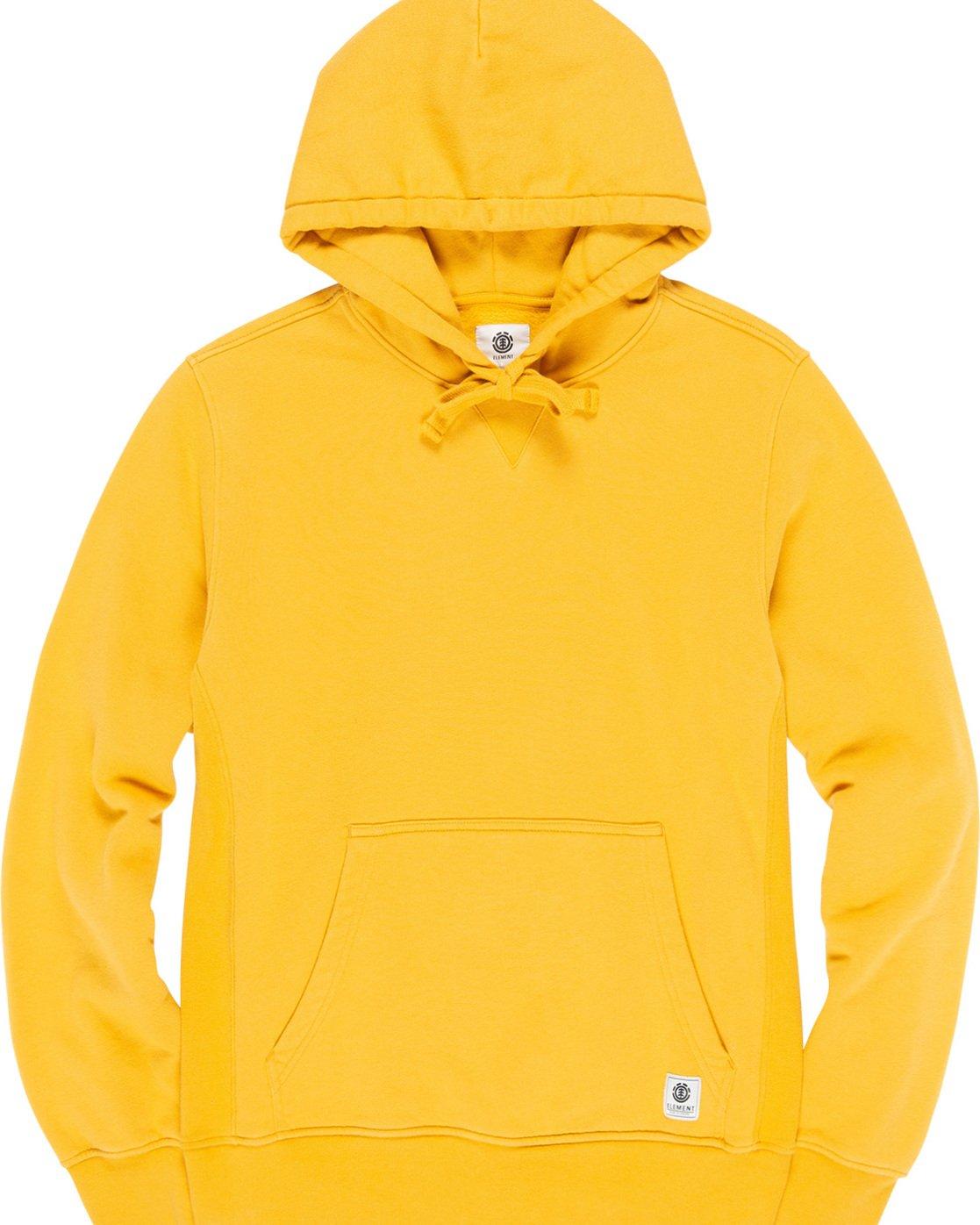 4 Neon - Sudadera con capucha para Hombre Amarillo Q1HOA4ELF9 Element