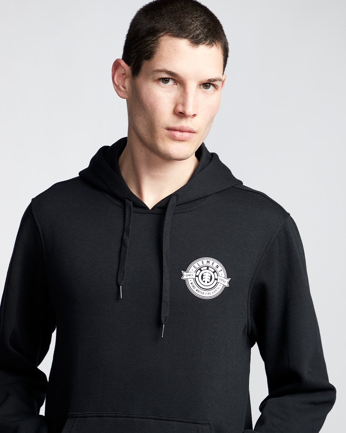 1 Medallian - Hoodie Black Q1HOA9ELF9 Element