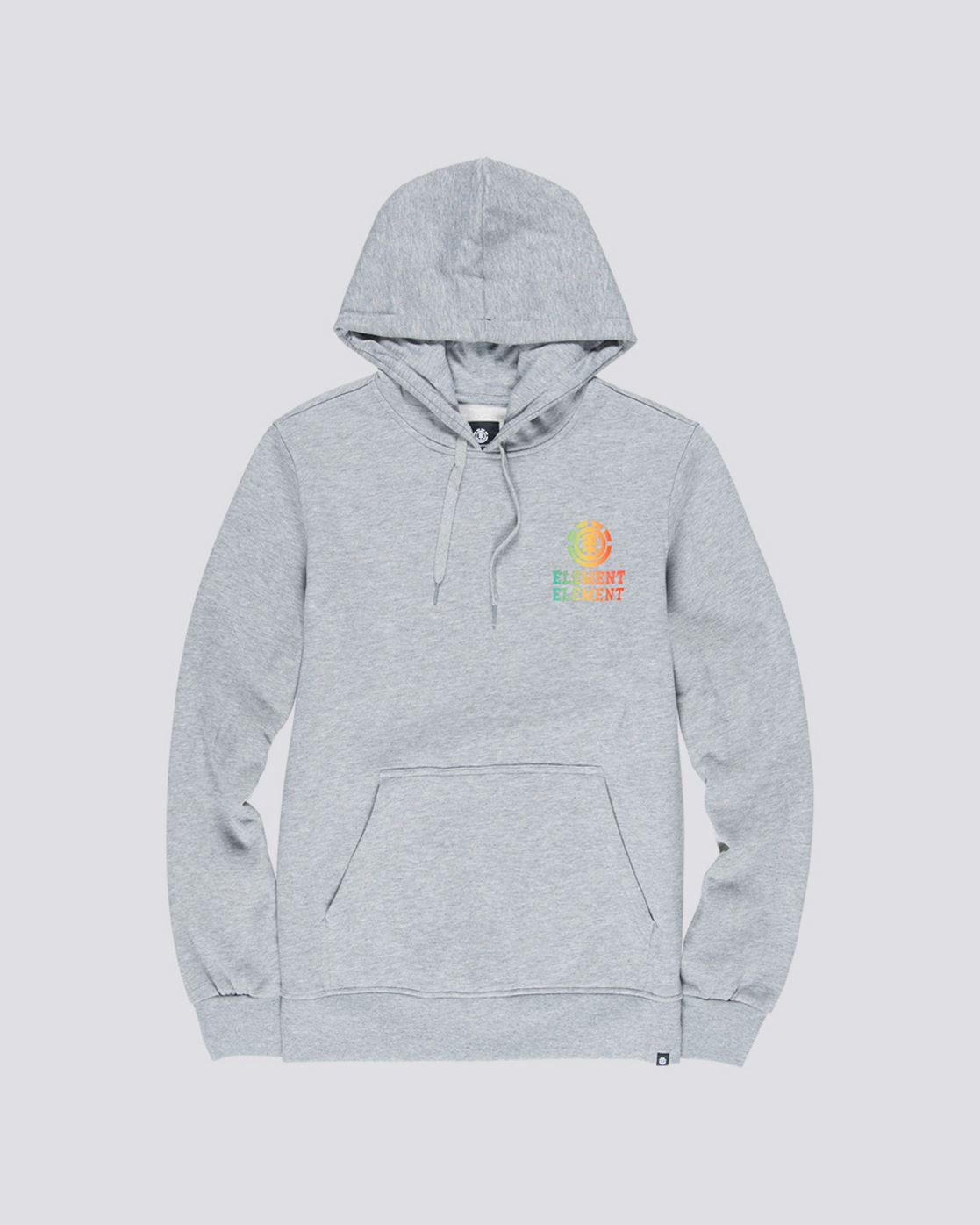 3 Drop - Pull à capuche pour Homme Gris Q1HOB1ELF9 Element
