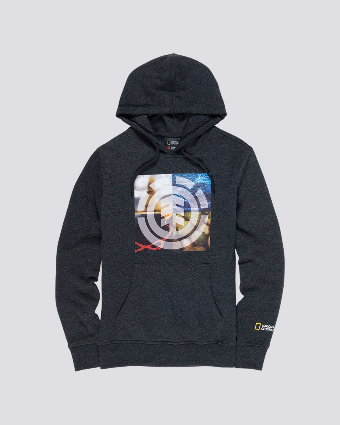 3 Quadrant Seasons - Hoodie Grey Q1HOB9ELF9 Element