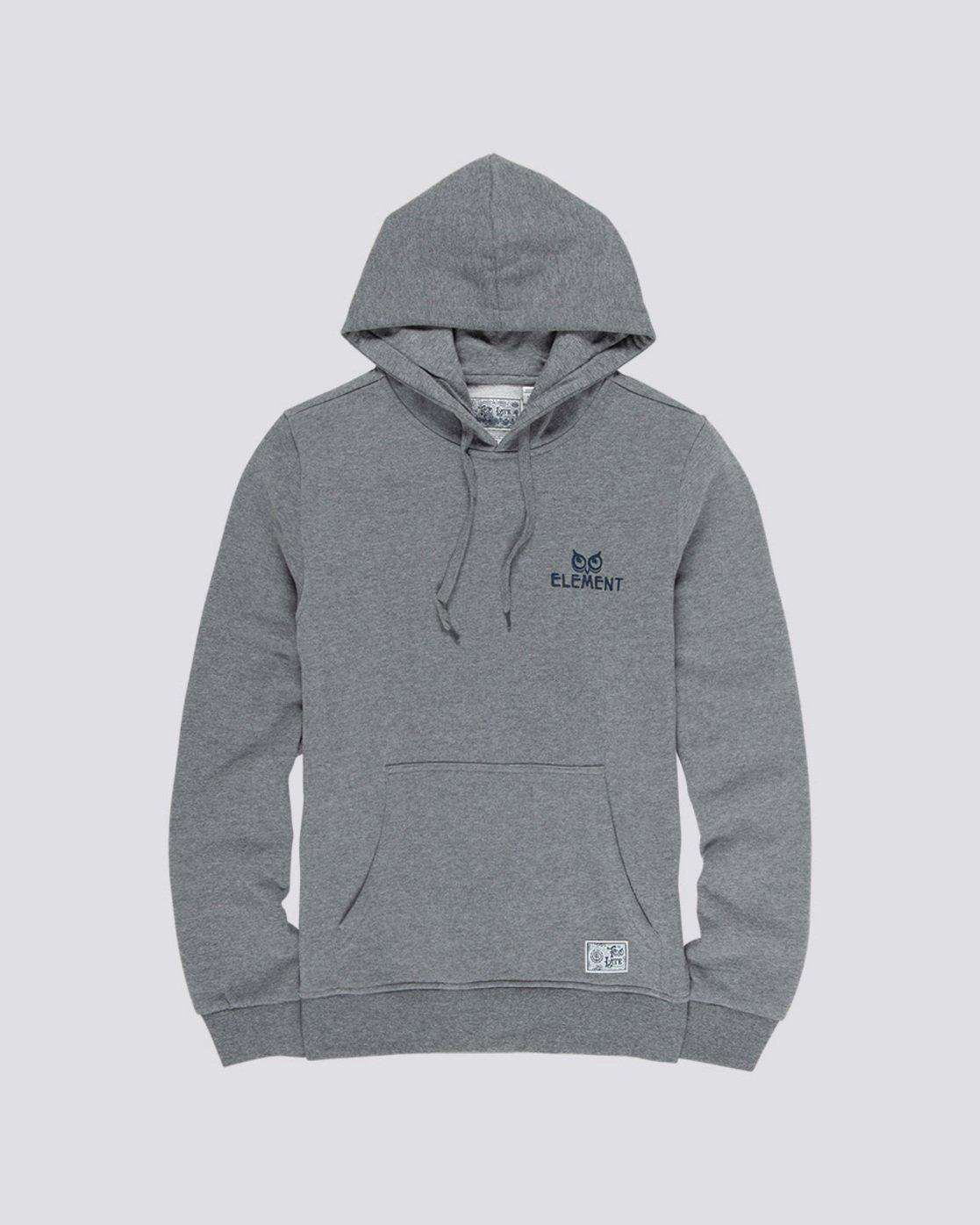 3 Cut Your Losses - Hoodie Grey Q1HOC2ELF9 Element