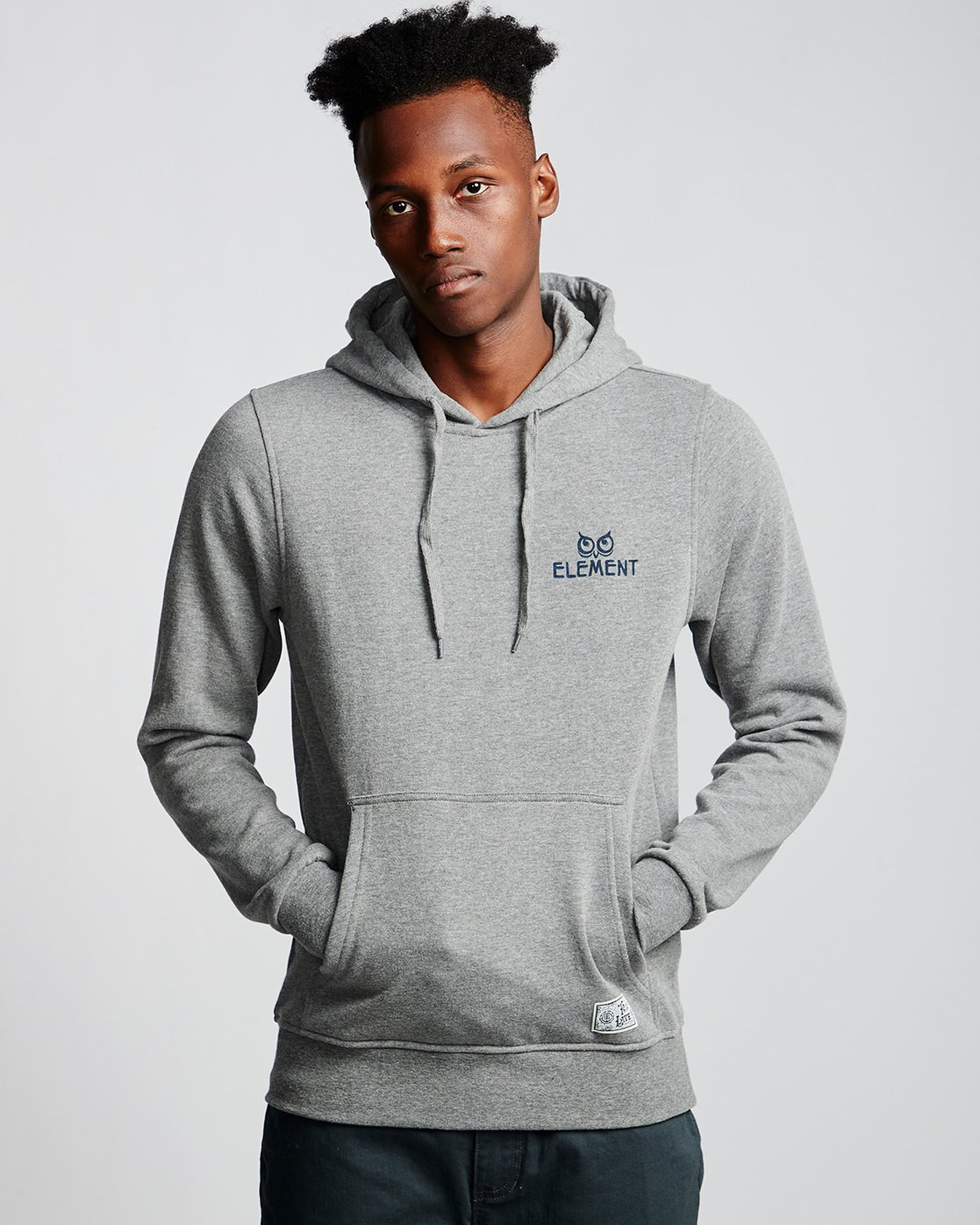 0 Cut Your Losses - Hoodie Grey Q1HOC2ELF9 Element