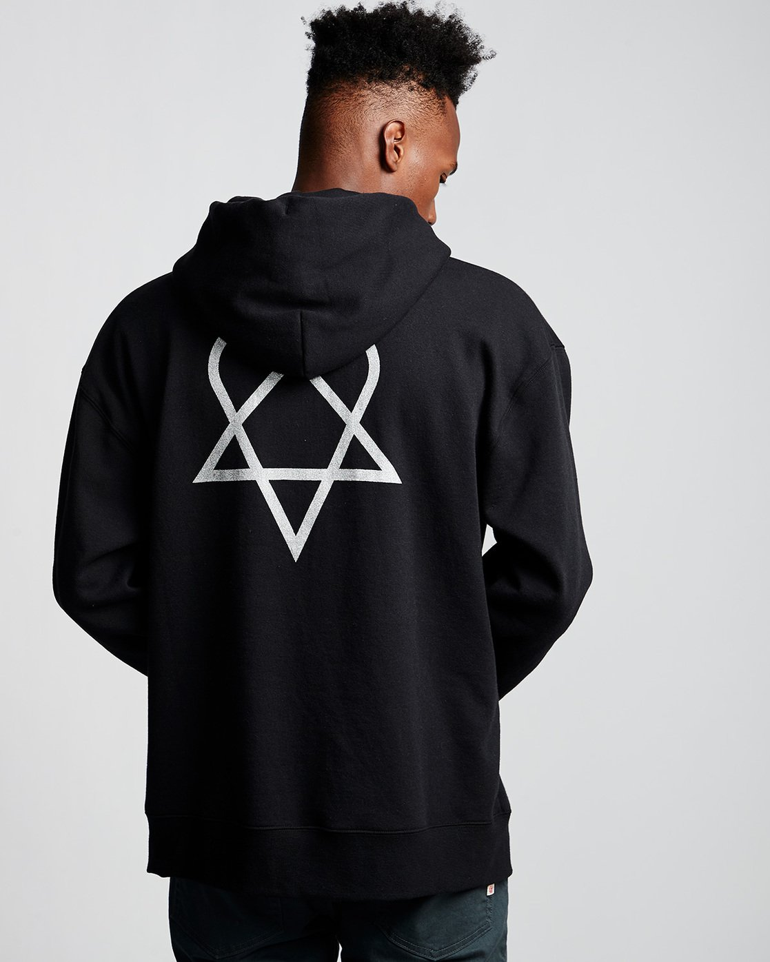 2 Bam - Hoodie Black Q1HOC4ELF9 Element