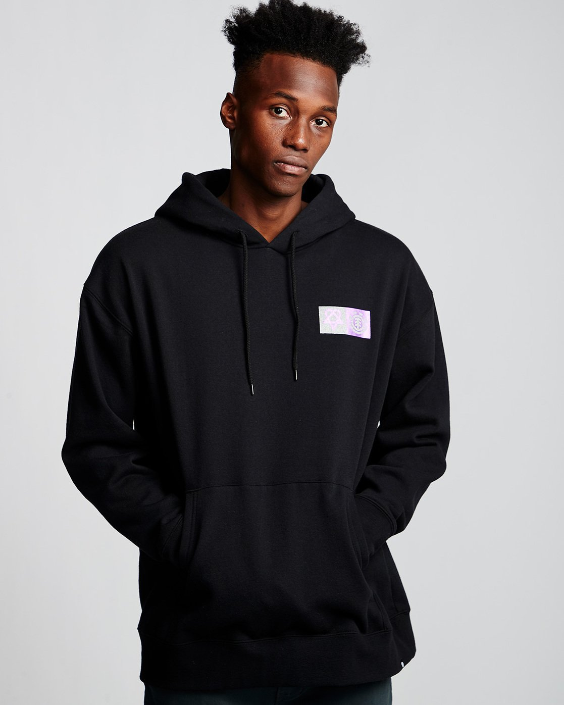 0 Bam - Hoodie Black Q1HOC4ELF9 Element