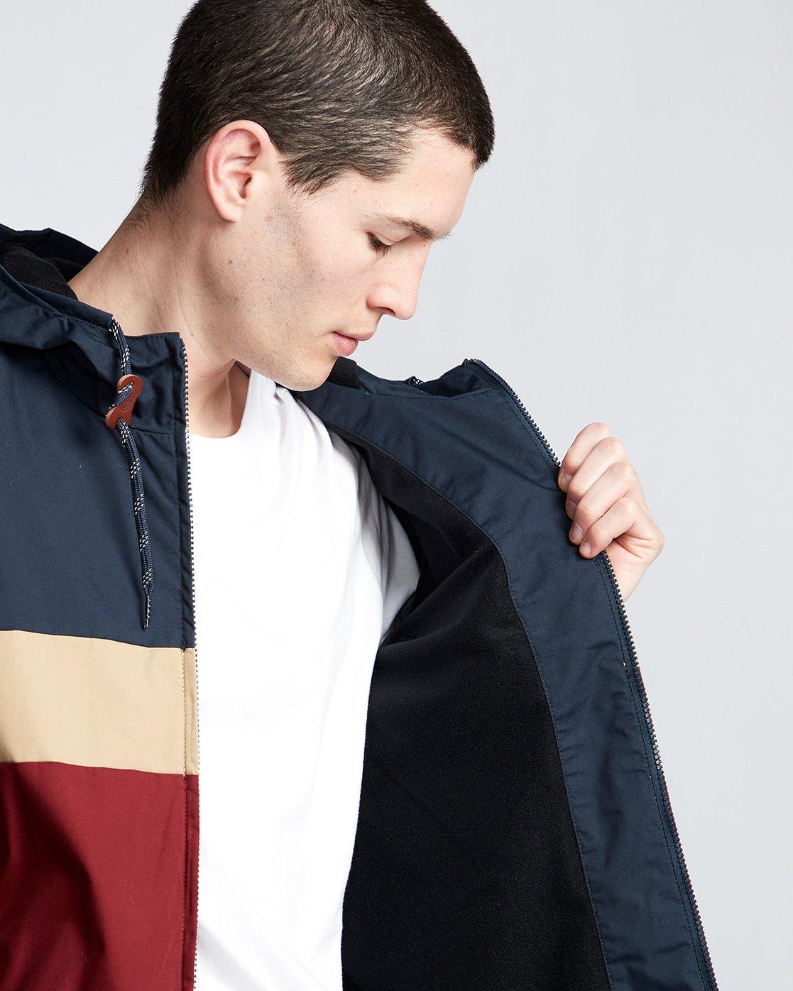 1 Alder 3 Tones - Hooded Jacket Red Q1JKB2ELF9 Element