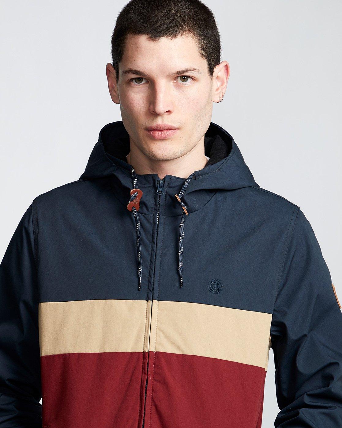 2 Alder 3 Tones - Hooded Jacket Red Q1JKB2ELF9 Element