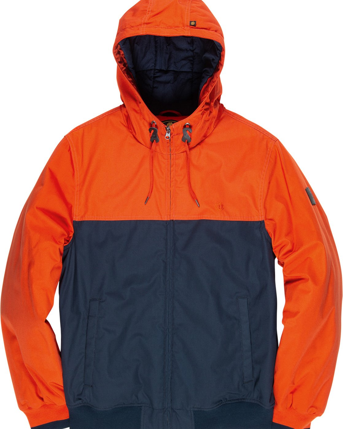 4 Dulcey 2 Tones - Hooded Jacket Orange Q1JKB3ELF9 Element