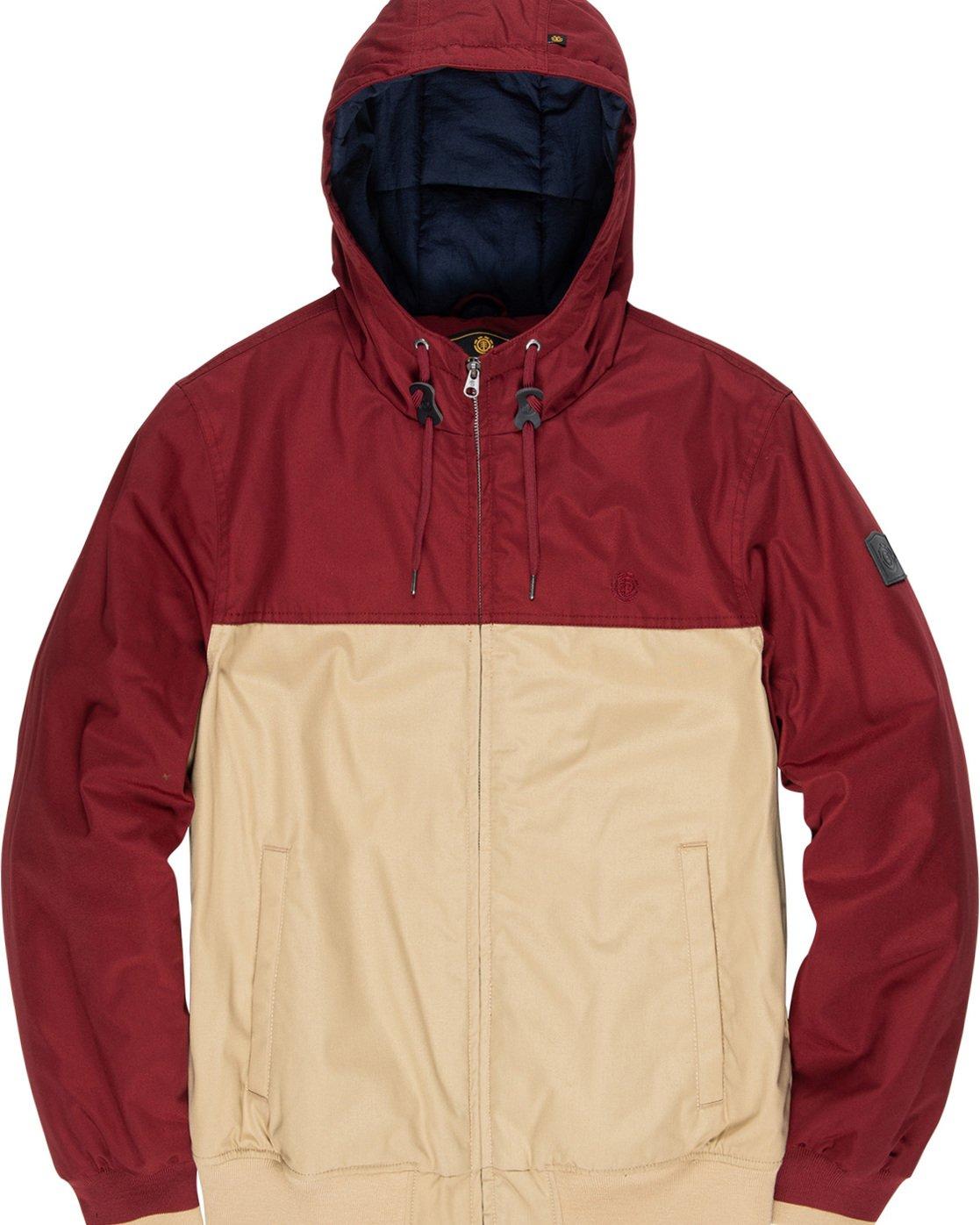 6 Dulcey 2 Tones - Hooded Jacket Gray Q1JKB3ELF9 Element
