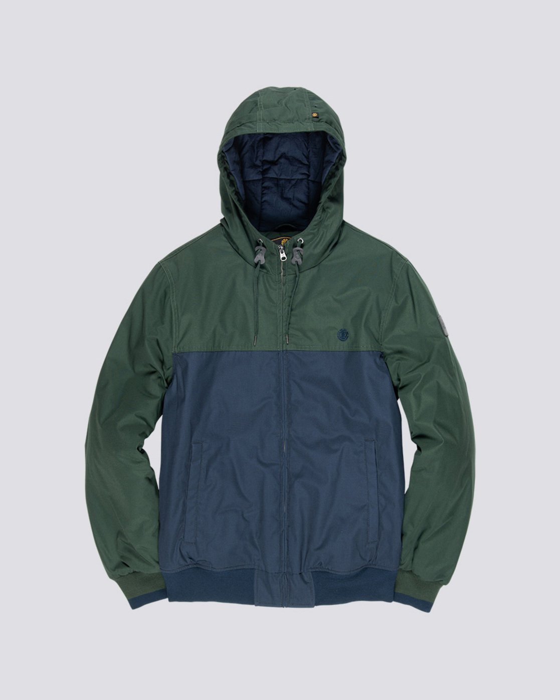 4 Dulcey 2 Tones - Hooded Jacket Green Q1JKB3ELF9 Element