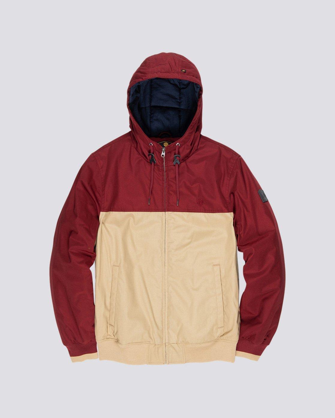 5 Dulcey 2 Tones - Hooded Jacket Gray Q1JKB3ELF9 Element