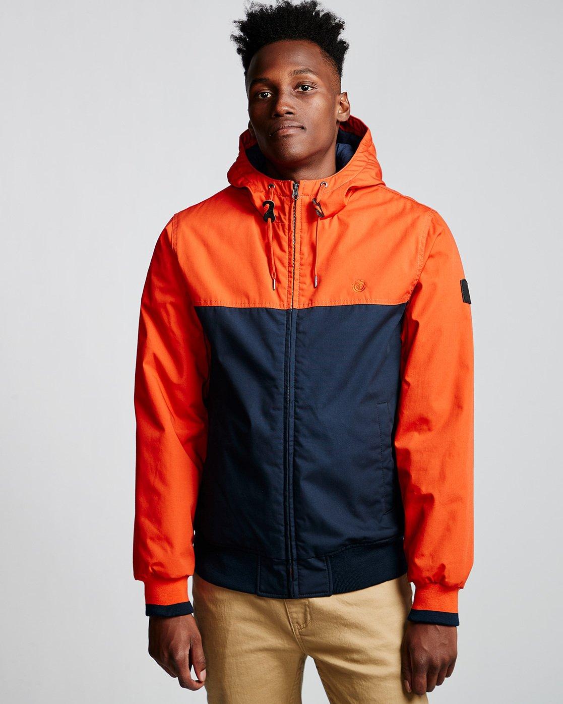 0 Dulcey 2 Tones - Hooded Jacket Orange Q1JKB3ELF9 Element