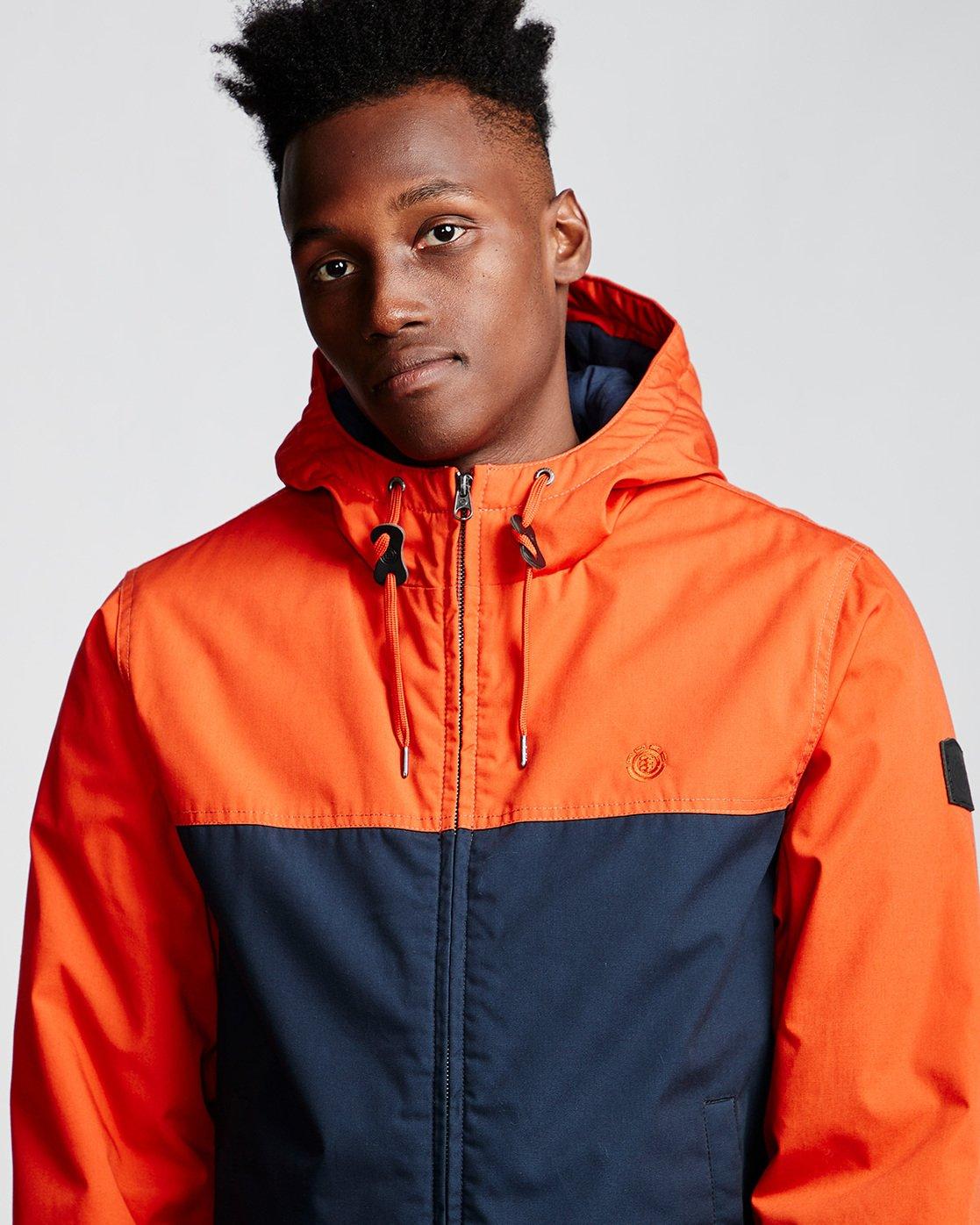 1 Dulcey 2 Tones - Hooded Jacket Orange Q1JKB3ELF9 Element