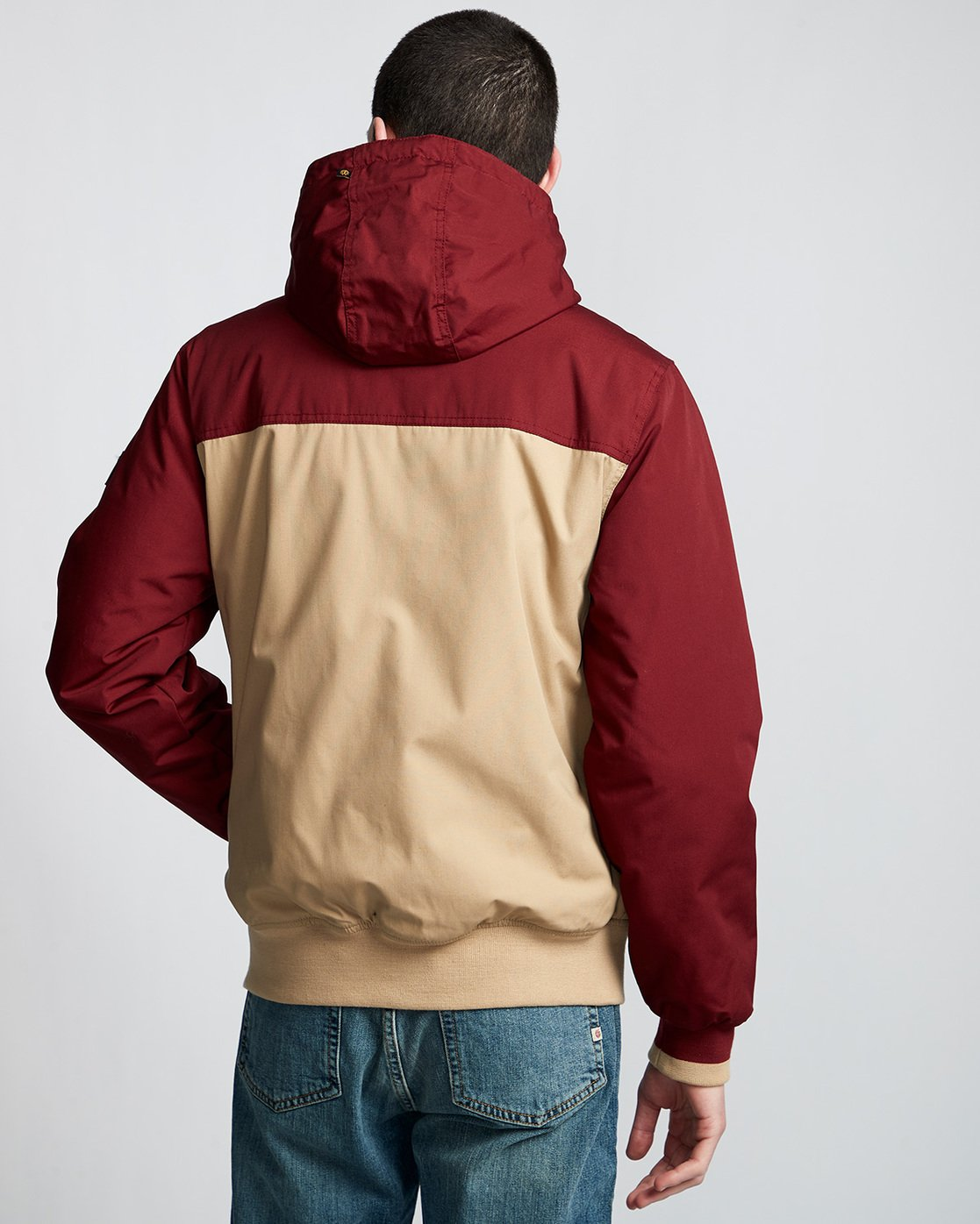 4 Dulcey 2 Tones - Hooded Jacket Gray Q1JKB3ELF9 Element