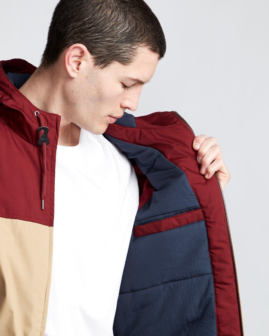 3 Dulcey 2 Tones - Hooded Jacket Gray Q1JKB3ELF9 Element