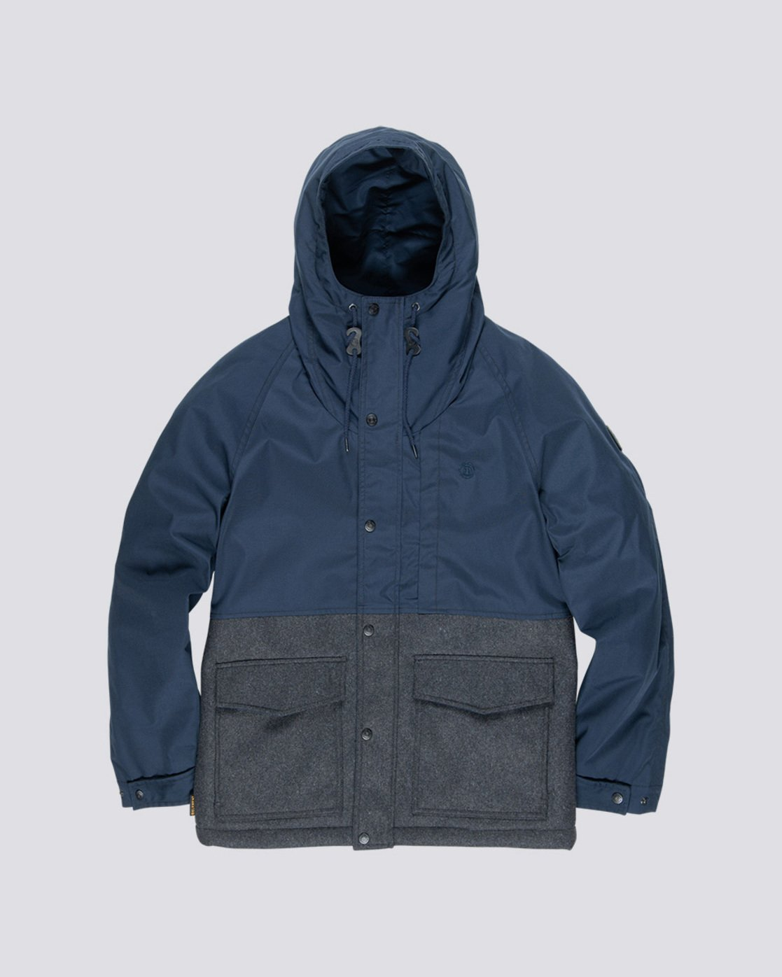 4 Birchmont - Parka da Uomo Blue Q1JKB7ELF9 Element