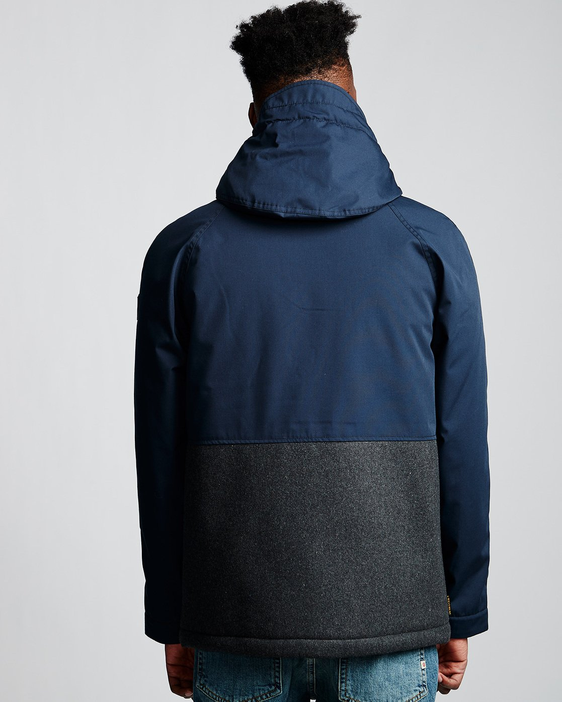 3 Birchmont - Parka da Uomo Blue Q1JKB7ELF9 Element