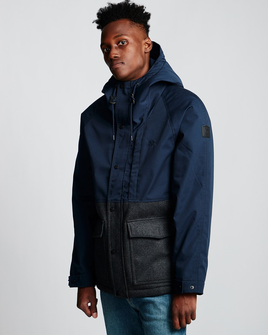 1 Birchmont - Parka da Uomo Blue Q1JKB7ELF9 Element