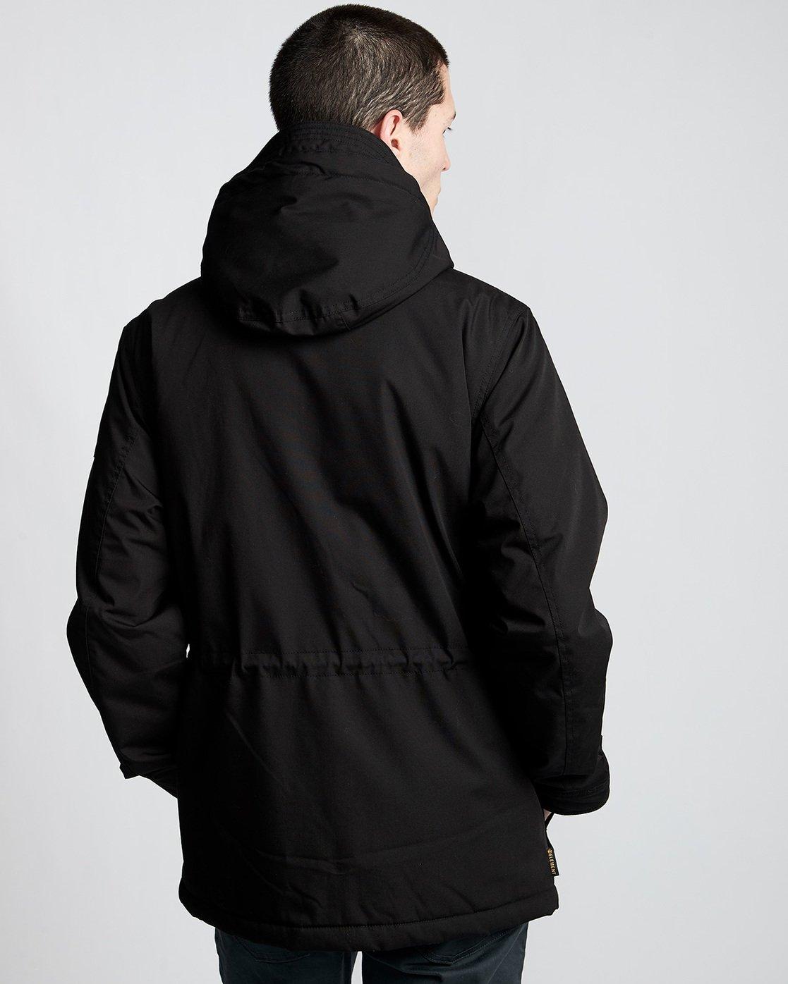 3 Boulder Brook - Hooded Jacket Black Q1JKB9ELF9 Element