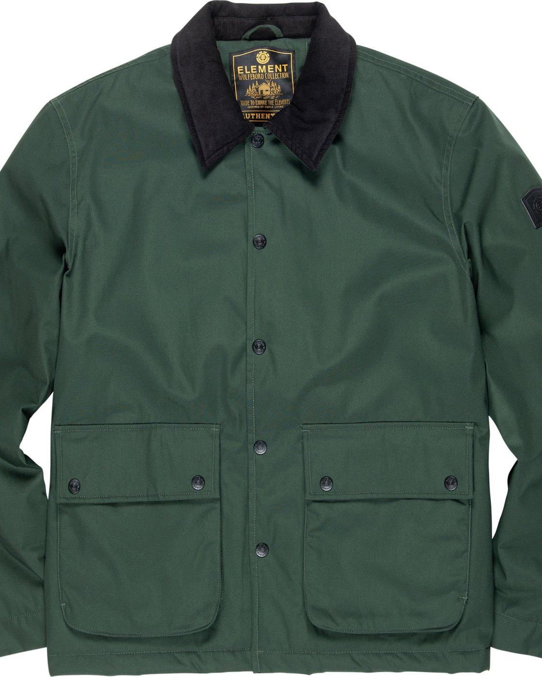 5 Greenwood - Jacket Green Q1JKC1ELF9 Element