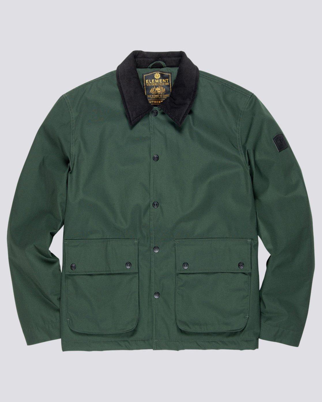 4 Greenwood - Jacket Green Q1JKC1ELF9 Element