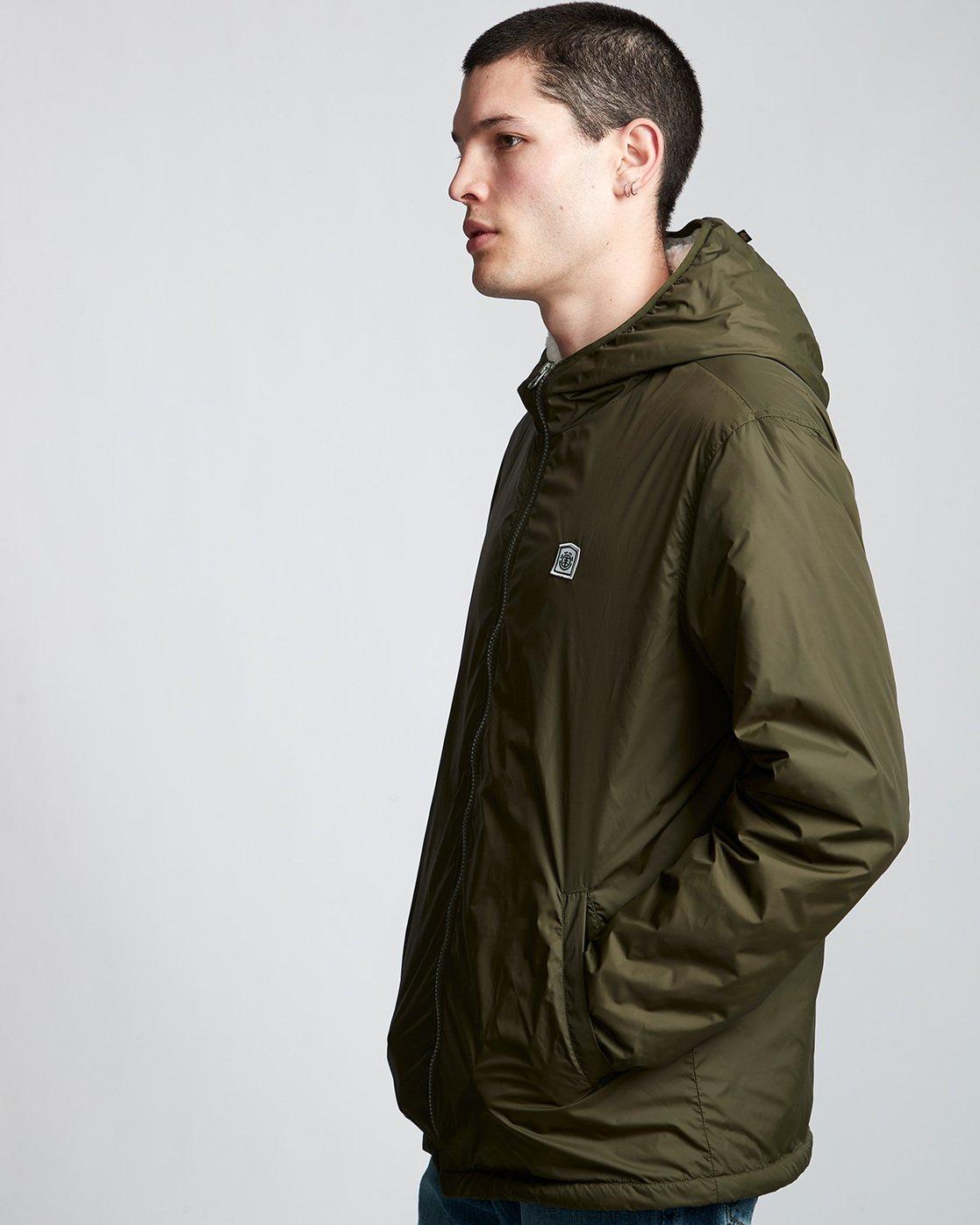1 Elkins Alder Sherpa - Jacket Green Q1JKC5ELF9 Element