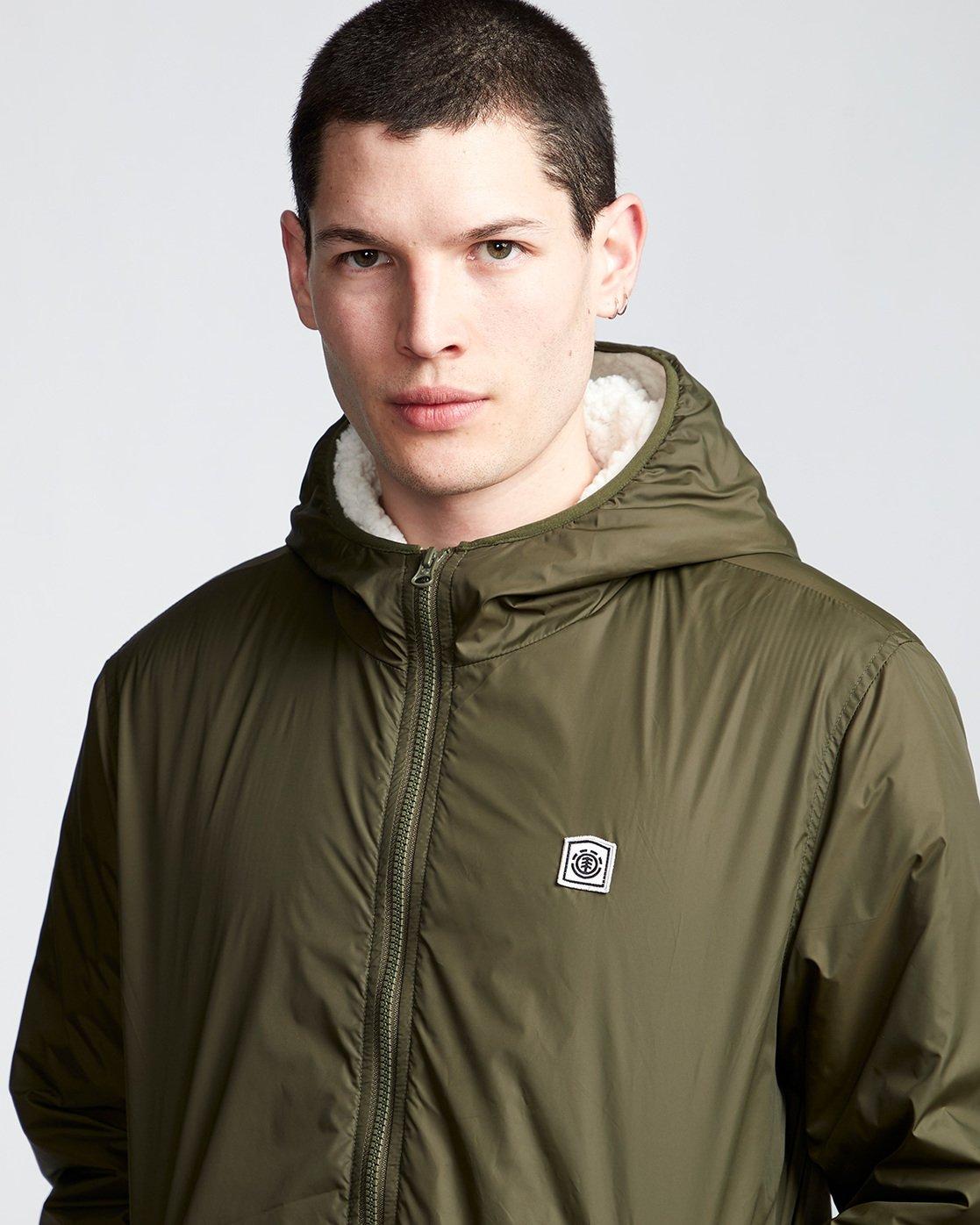 2 Elkins Alder Sherpa - Jacket Green Q1JKC5ELF9 Element