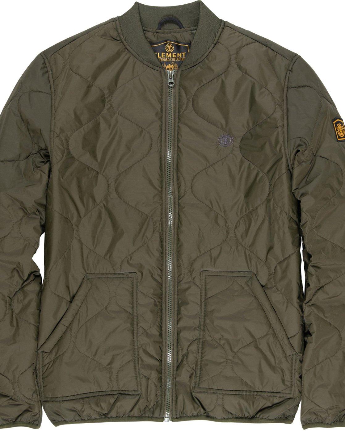 6 Northwoods - Jacket Green Q1JKC8ELF9 Element