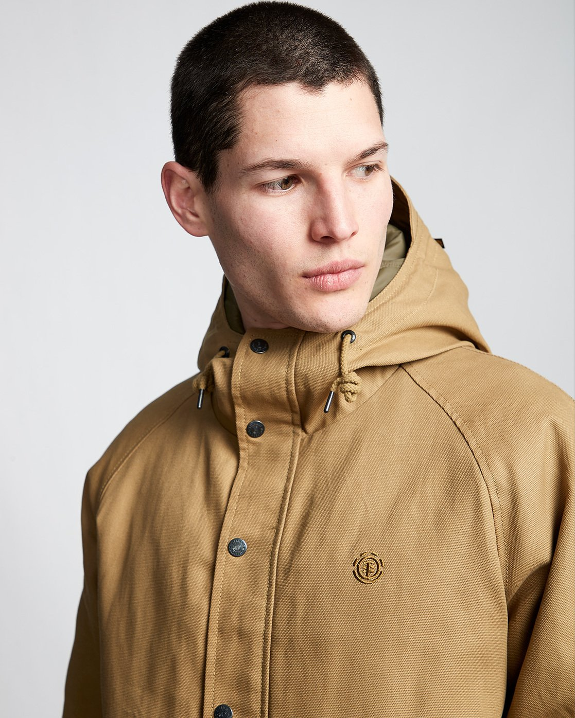 2 Koa Work - Hooded Jacket  Q1JKD1ELF9 Element