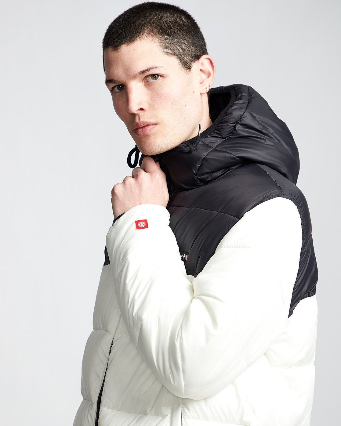1 Primo Alder Avalanche - Jacket White Q1JKD5ELF9 Element