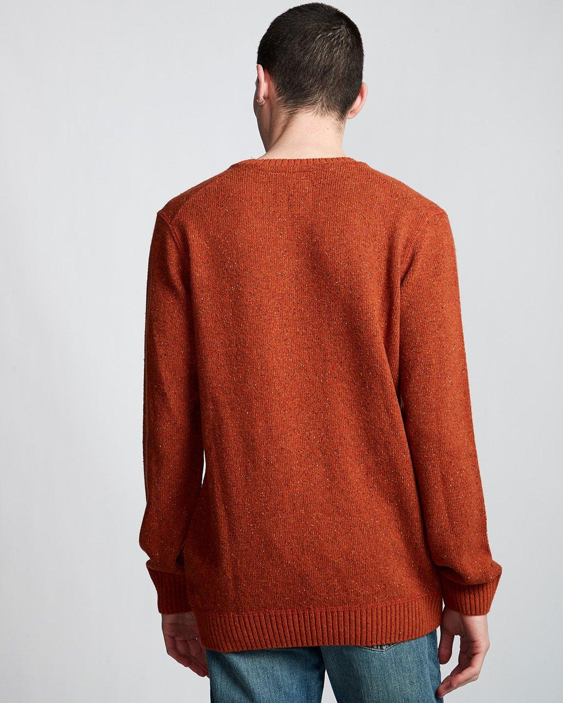 2 Kayden - Pullover für Männer Orange Q1JPA1ELF9 Element