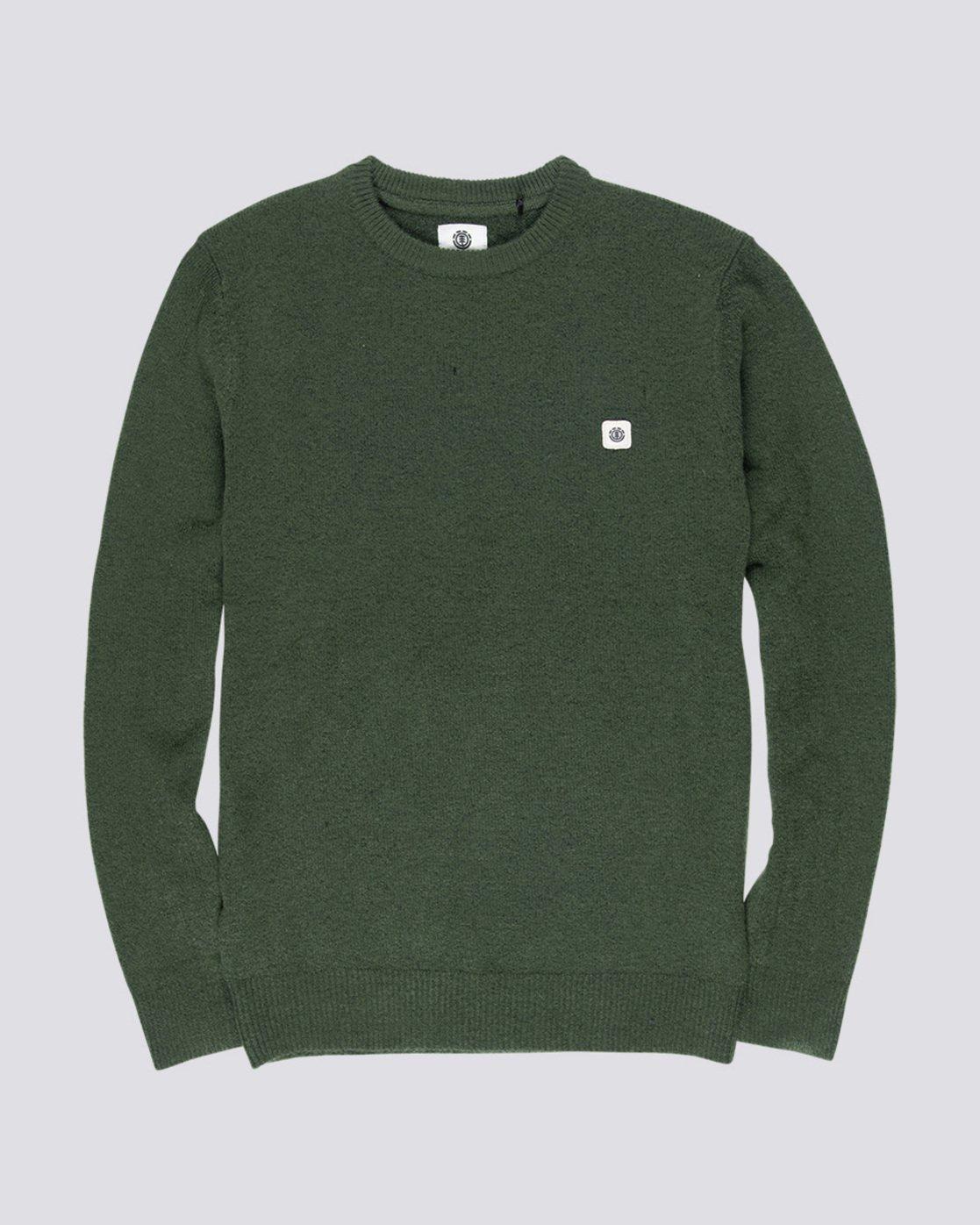 3 Danny - Pullover für Männer Grün Q1JPA2ELF9 Element