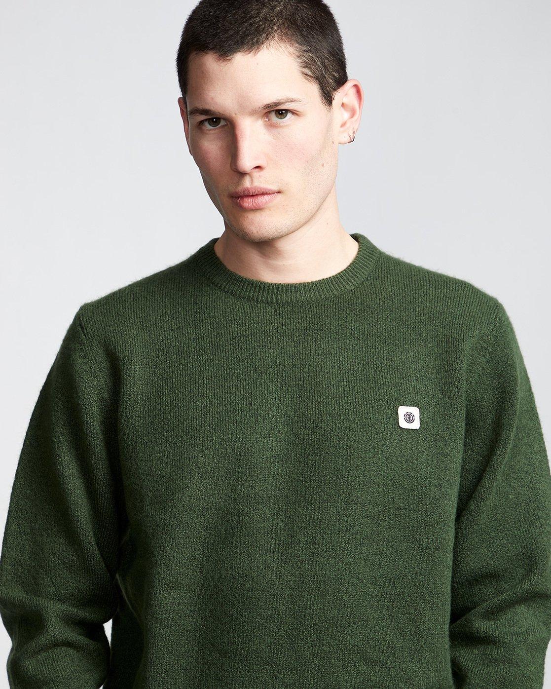 1 Danny - Pullover für Männer Grün Q1JPA2ELF9 Element