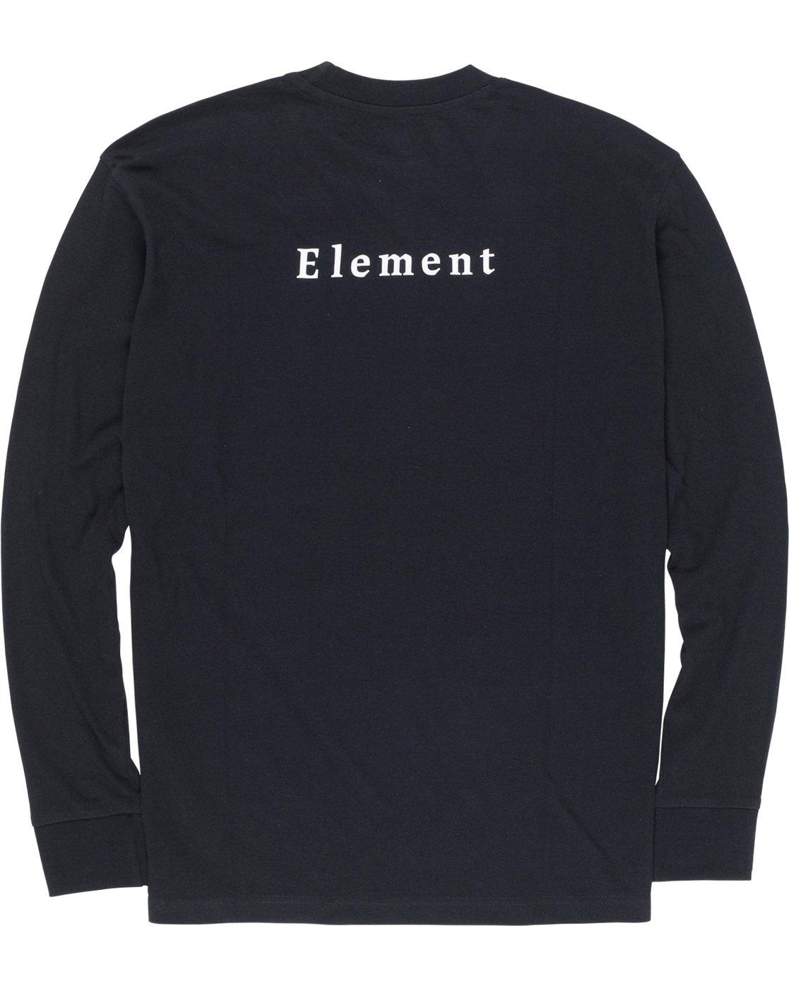 6 SD - Long Sleeve T-Shirt Black Q1LSA2ELF9 Element