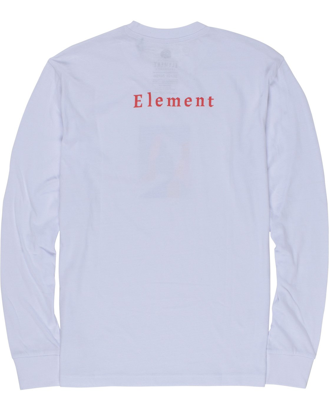 6 SD - Long Sleeve T-Shirt White Q1LSA2ELF9 Element