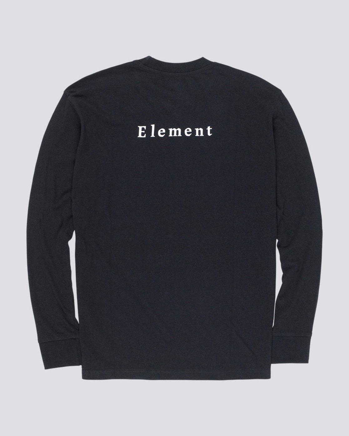 4 SD - Long Sleeve T-Shirt Black Q1LSA2ELF9 Element