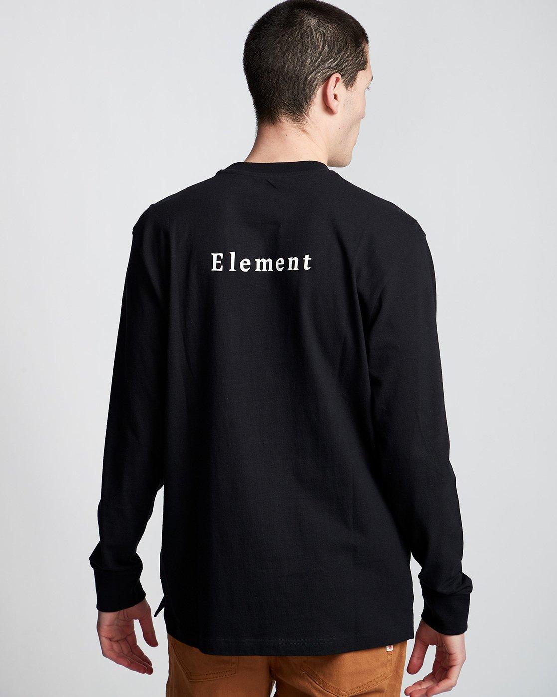 2 SD - Long Sleeve T-Shirt Black Q1LSA2ELF9 Element