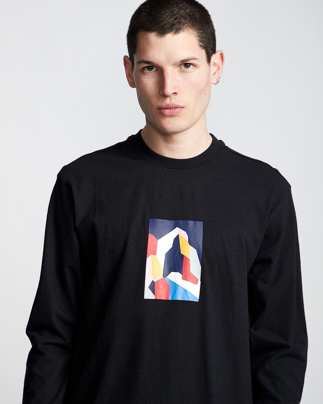 1 SD - Long Sleeve T-Shirt Black Q1LSA2ELF9 Element