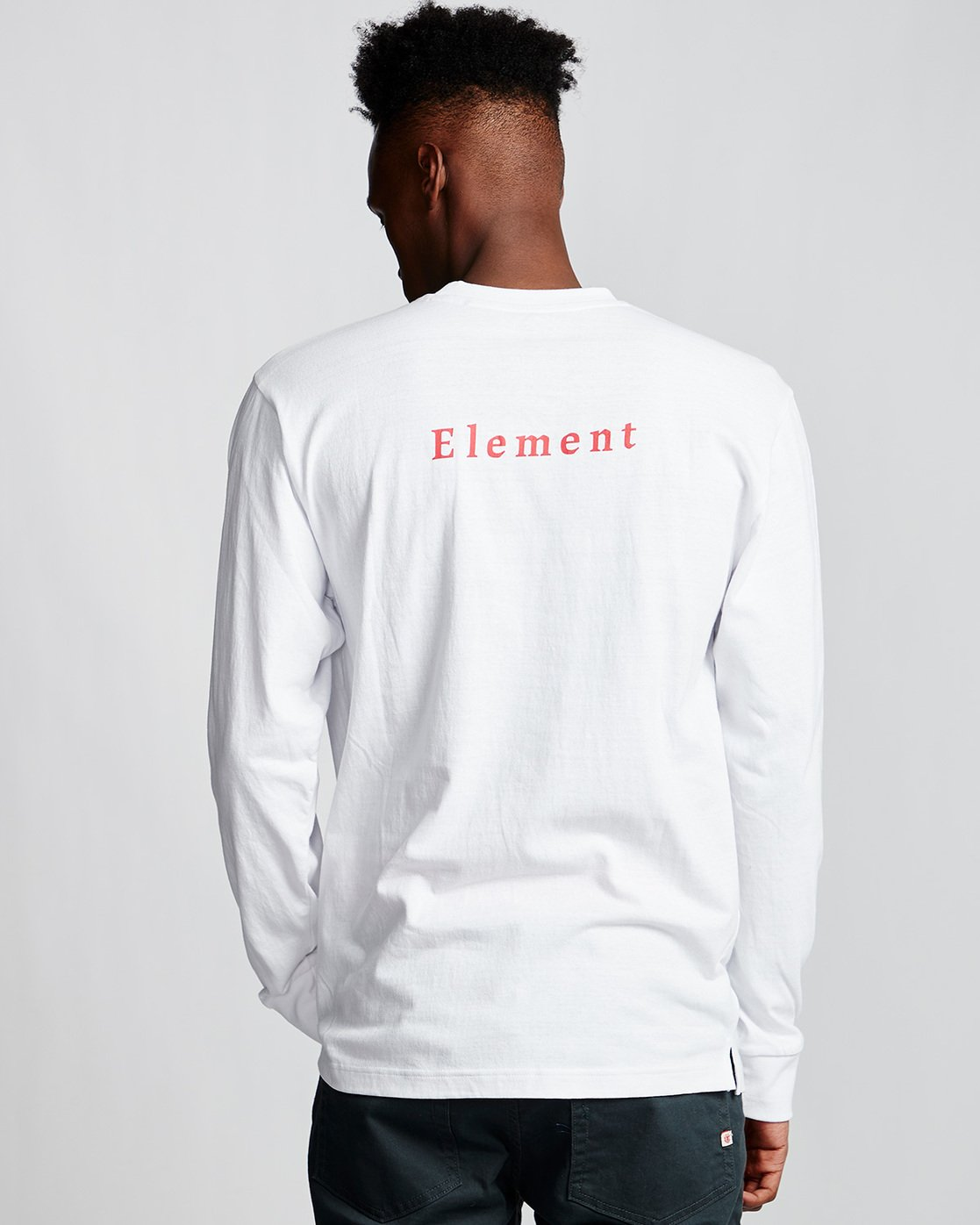 2 SD - Long Sleeve T-Shirt White Q1LSA2ELF9 Element
